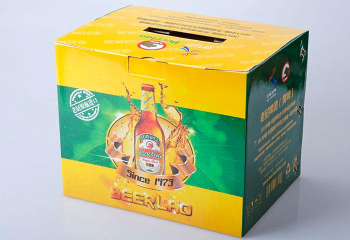 老撾啤酒瓦楞紙盒
