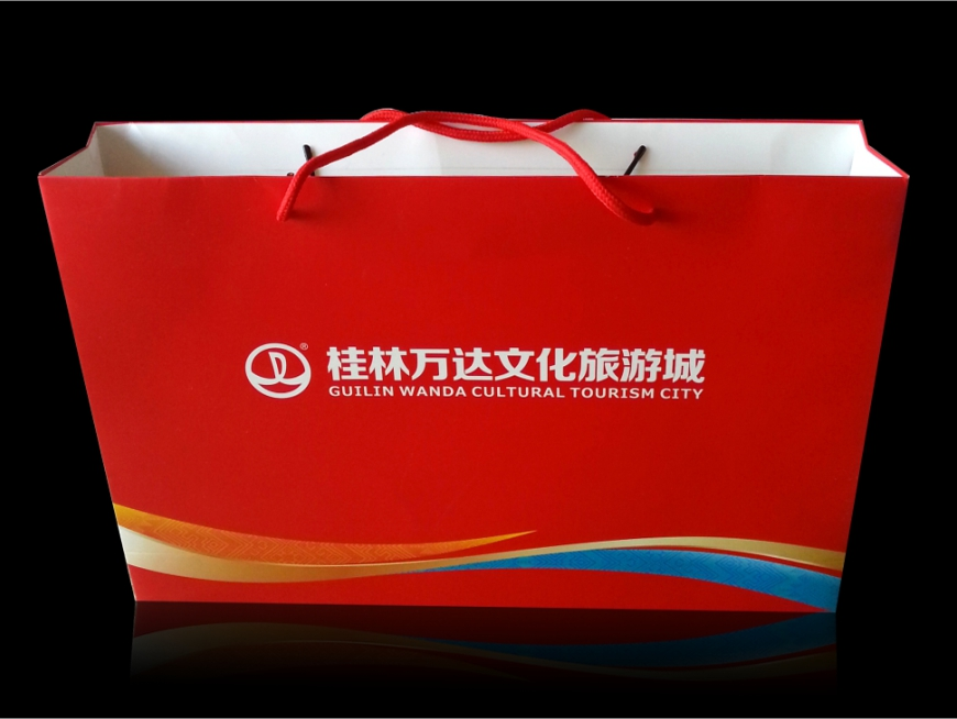 桂林萬達手提紙袋