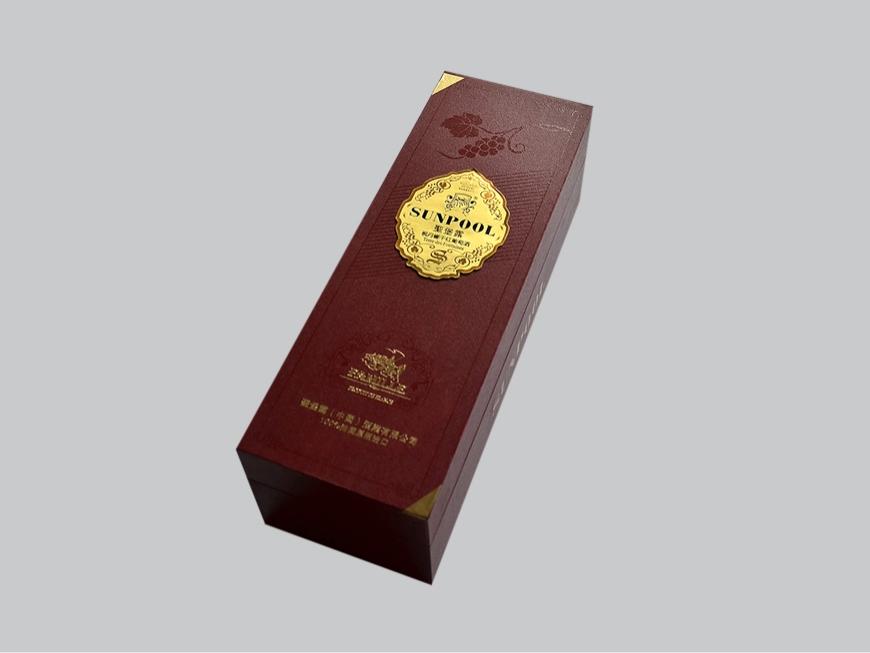 紅酒精裝盒